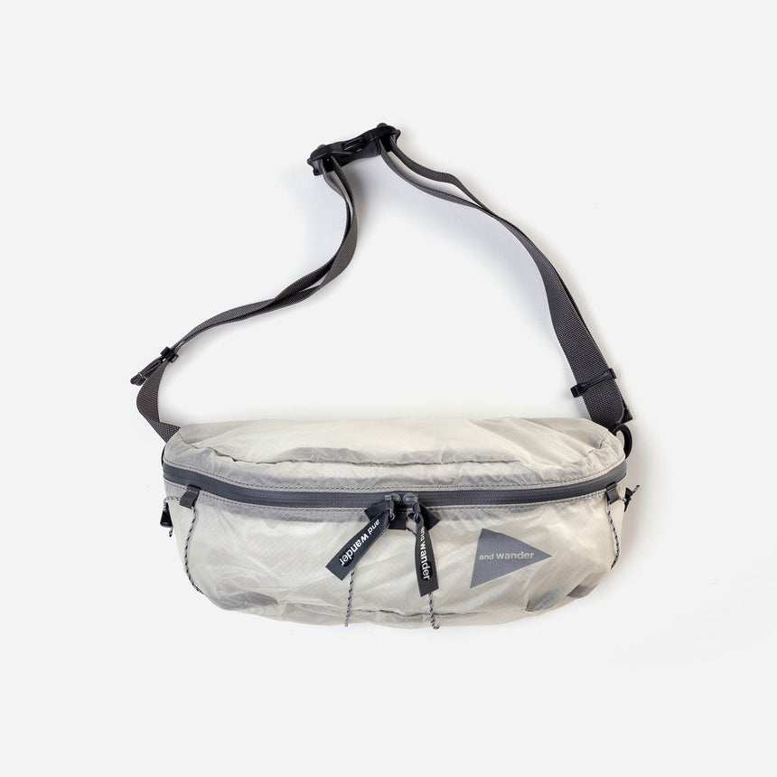 and wander Sil Waist Bag off white