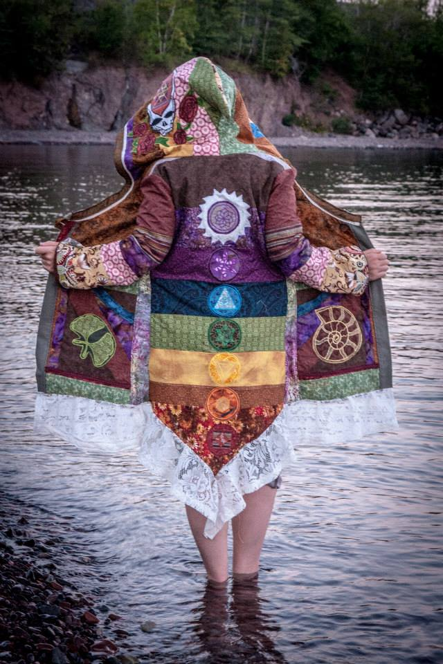 Custom Women's Patchwork Coat Deposit