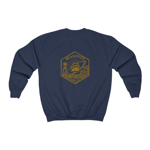 BearFoot Surf Co. Crewneck Sweatshirt