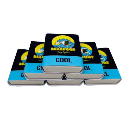 BearFoot Surf Wax Cool Temperature (6-Pack)