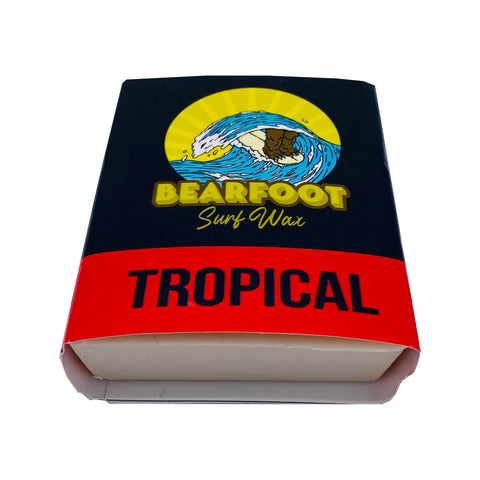 BearFoot Surf Wax Tropical Temperature (6 Pack)