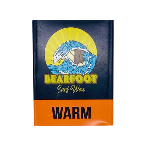 BearFoot Surf Wax Warm Temperature (6 Pack)
