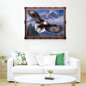 Eagle Flying 5D fai da te Round DrillDiamond Painting