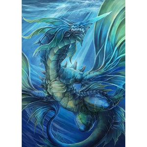 Sea Dragon 5D fai da te Full Drill diamante Pittura
