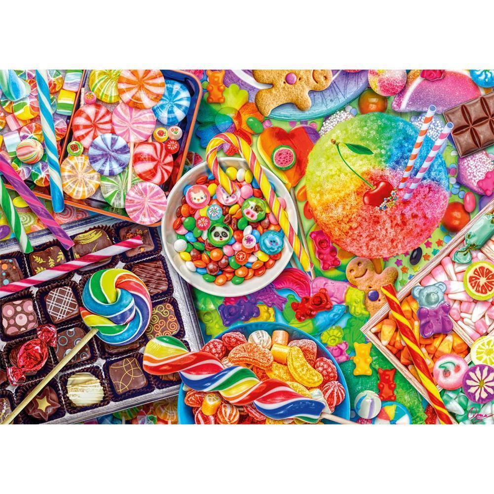 Candy Biscuits Arts 5D fai da te Full Drill Diamante Pittura