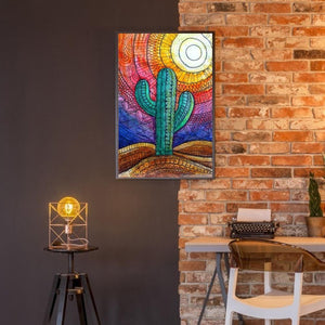 Cactus 5D fai da te Full Drill Diamante Pittura