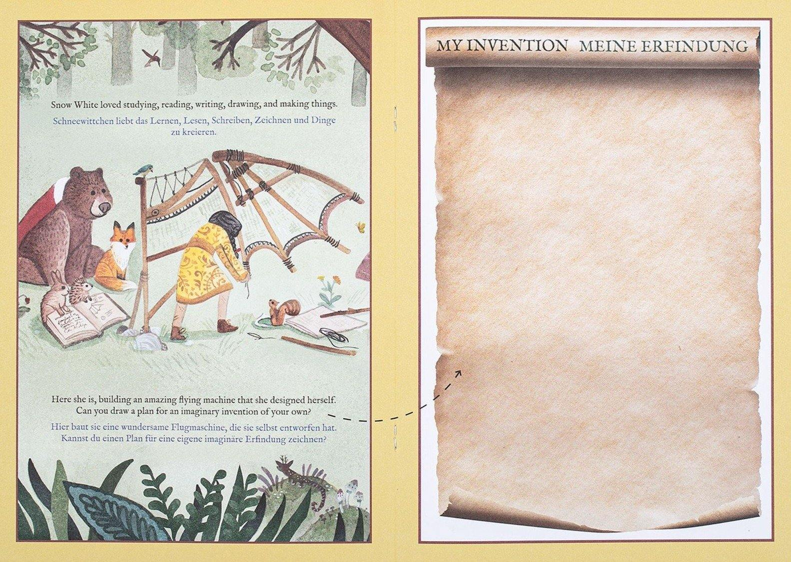 Activity Book - Fairy Tales Retold (Inside Pages)