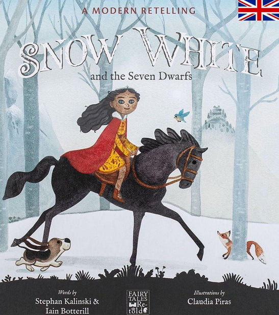 Snow White - English - Fairy Tales Retold