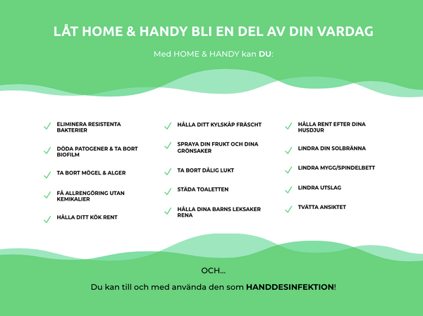 Handy - disinfectant spray - Handdesinfektion