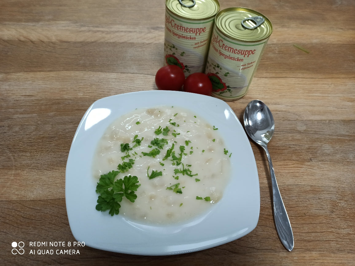 Spargelcremesuppe 380g Dose