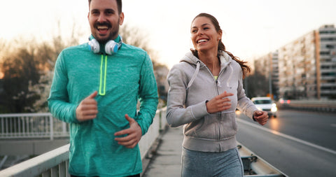 running outside_boost your immune system quickly_purelife organics