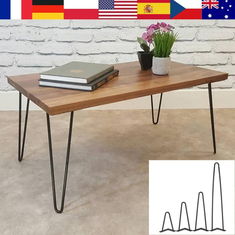 4Pcs Iron Metal Table Desk Legs Home Accessories for DIY Handcrafts