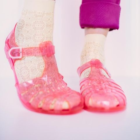 jelly-shoes