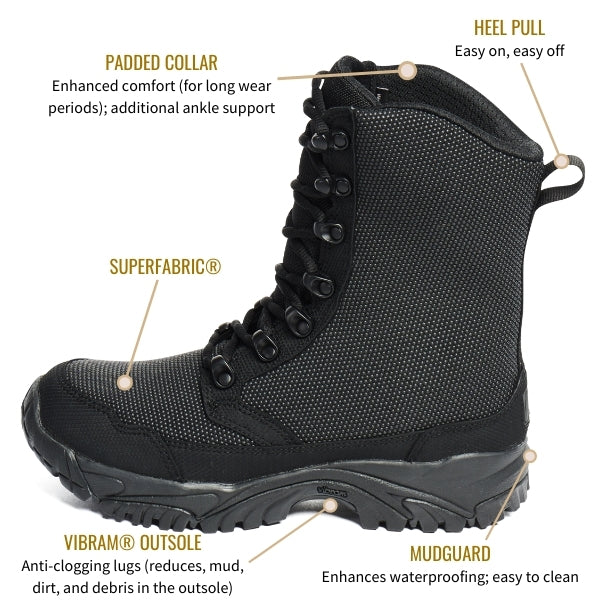 8-inch-motorcycle -boots