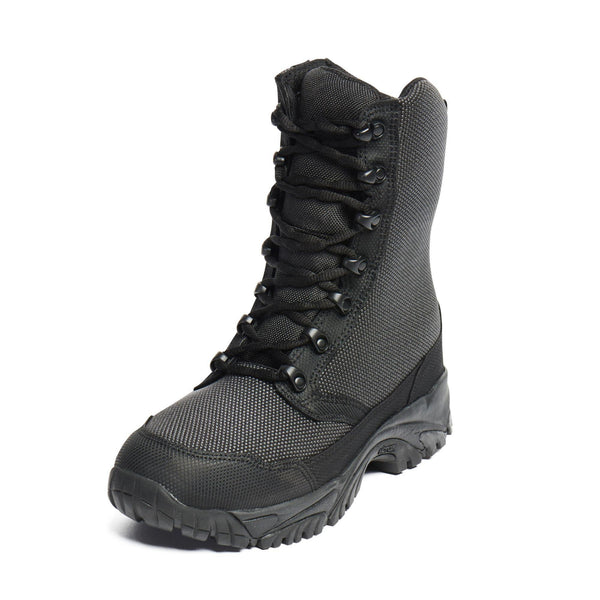 "ALTAI® 8"" Black Waterproof Motorcycling Boots with Zipper - Altai Gear Singapore"