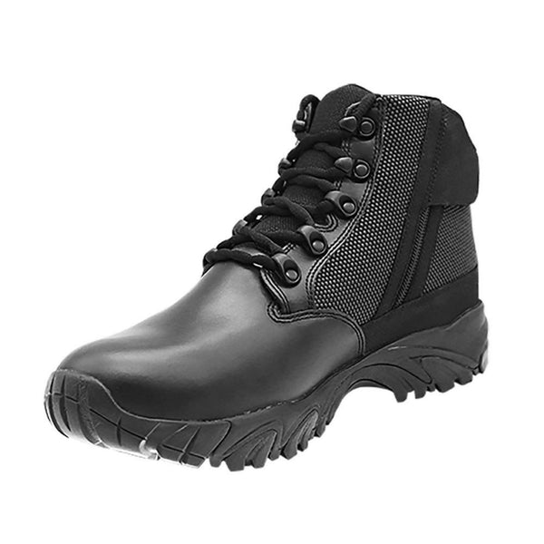"ALTAI® 6"" Black Waterproof Tactical Boots with Zipper - Altai Gear Singapore"