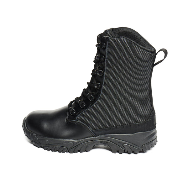 "ALTAI® 8"" Black Waterproof Tactical Boots with Leather Toe - Altai Gear Singapore"