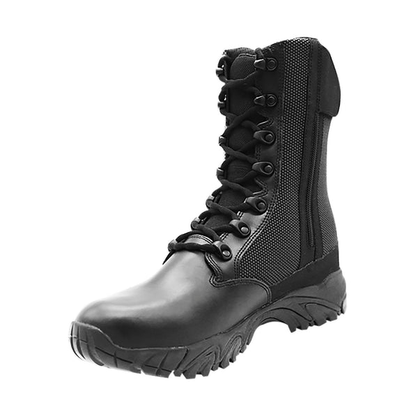 "ALTAI® 8"" Black Waterproof Tactical Boots with Zipper - Altai Gear Singapore"