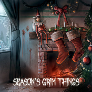 Festive delights with added frights! Creepy Christmas Cards