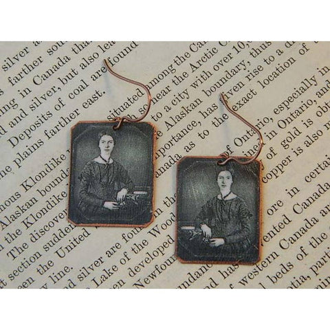 Emily Dickinson Earrings