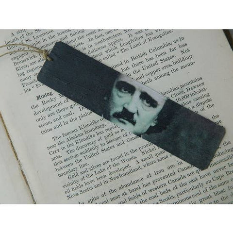 Edgar Allan Poe Portrait Bookmark