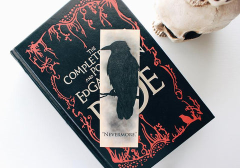 Nevermore / Quoth The Raven Bookmark