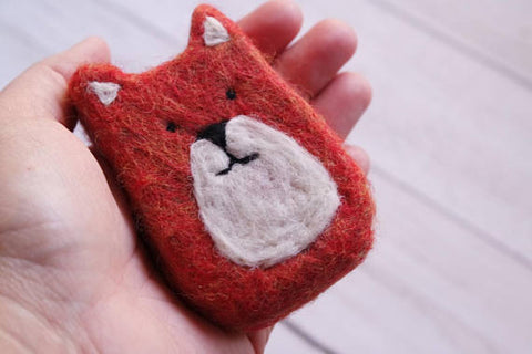 Felted Fox Soap Bar
