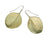Green Eucalyptus Leaf Earring