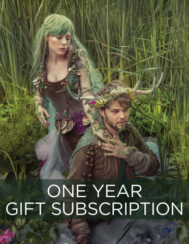 1 Year Gift Sub & Card, start with SPRING 2019