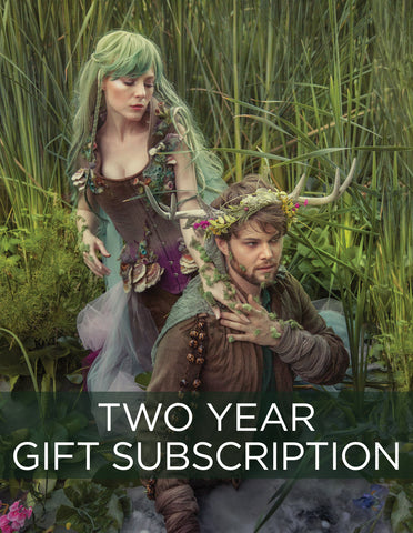 2 Year Gift Sub & Card, start with SPRING 2019