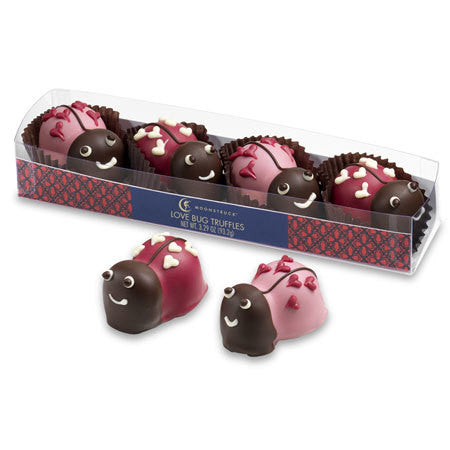 4 Piece Love Bug Truffles