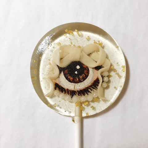 Brown Lover's Eye Lollipop (One)