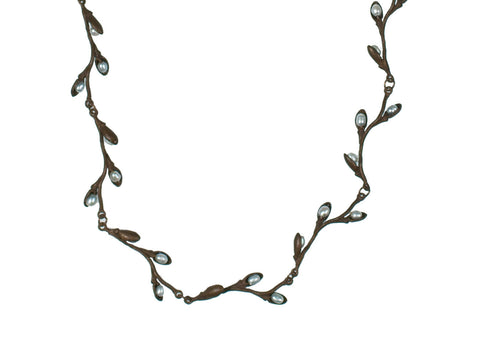 Pussy Willow Collar Necklace