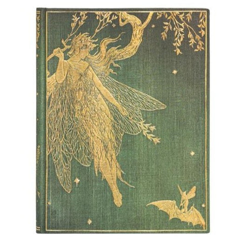 Large Olive Fairy Journal