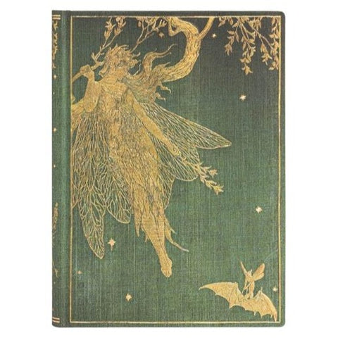 Medium Olive Fairy Journal