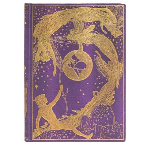 Medium Violet Fairy Journal