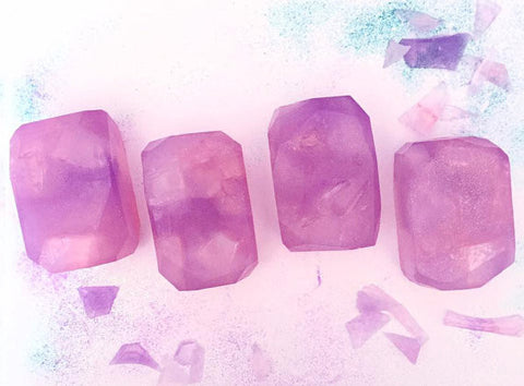 Acai Berry Fairy Crystal Soap