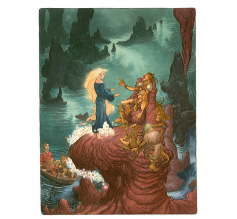 Amongst the Goblins - Limited Edition Signed Art Print