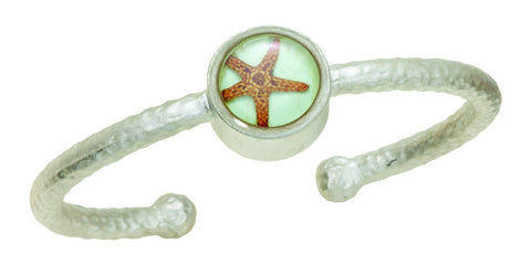 Starfish Small Round Bangle