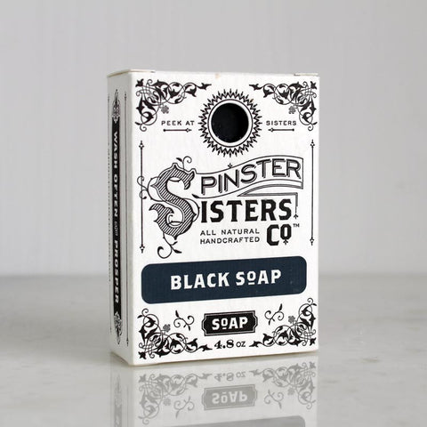 Spinster Sisters Black Soap
