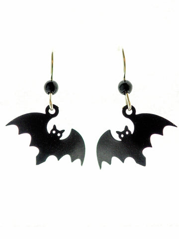 Bat Earrings - Classic