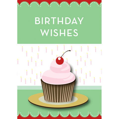 Birthday Wishes - Flying Wish Paper Card