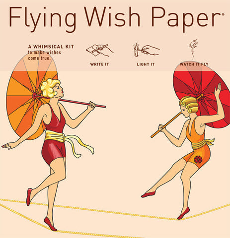 Cirque de Femmes - Flying Wish Paper Mini Kit
