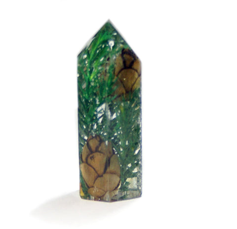 Pine Tree Crystal Standing Point