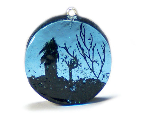 Starry Night Sky Pendant