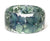 Crystal Blue Flower Resin Bracelet