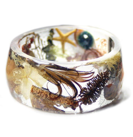Nature Magic Resin Bracelet