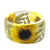 Sunflower Garden Resin Bracelet
