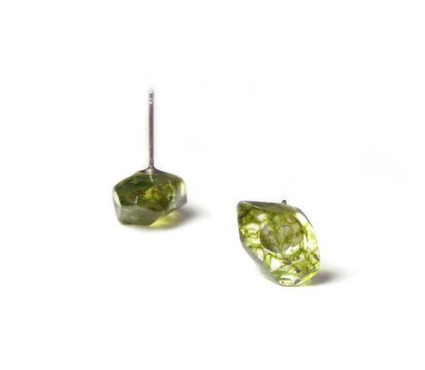 Crystal Moss Earrings