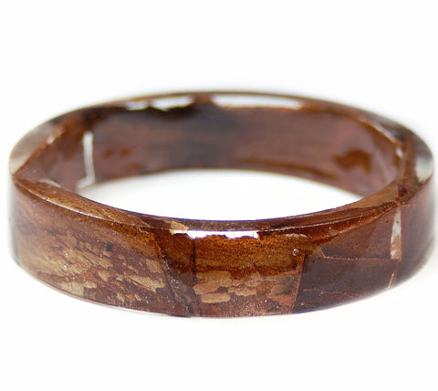 Tree Bark Resin Bracelet